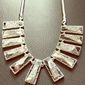 Kendra Scott Angelina druzy multi bar necklace